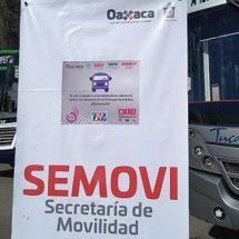 Implementan campaña en el transporte público en Oaxaca para erradicar el acoso contra las mujeres