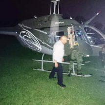Suspenden inicio de clases en secundaria por aterrizaje de helicóptero