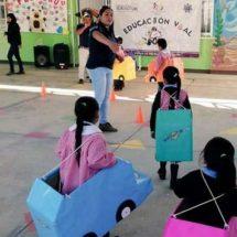 Promueven cultura vial en Santa Cruz Xoxocotlán