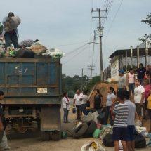 Levantan más de 2 toneladas de cacharros en Loma Alta