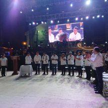 Dávila preside hermanamiento entre las ciudades de Huatulco y Tuxtepec