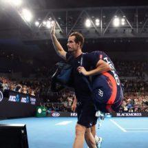 Estrellas del tenis despiden a Andy Murray
