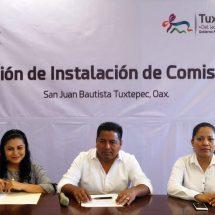 Inicia Instalación y Sesiones de las Comisiones del Gobierno Municipal de Tuxtepec