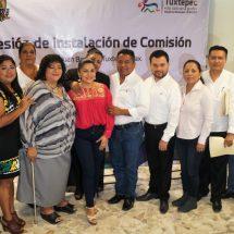 Quedan instaladas las 14 Comisiones Municipales del Ayuntamiento de Tuxtepec