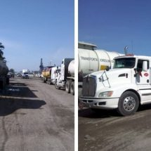 Esperan en Ciudad Victoria suministro de combustible con pipas