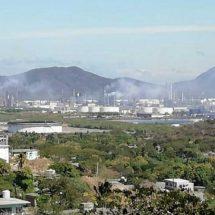 Fuerte explosión en la refinería de Salina Cruz, Oaxaca