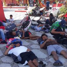 Drama migrante en Tapanatepec, Oaxaca