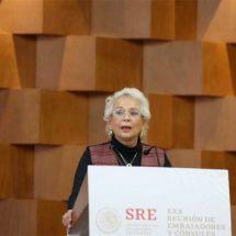 Sánchez Cordero se reunirá con gobernadores por desabasto