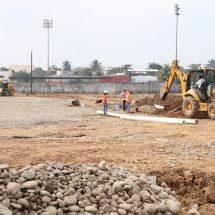 Abril fecha tentativa para culminar construcción de la nueva Unidad Deportiva de Tuxtepec