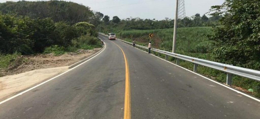 Avanza CAO en la reconstrucción de la carretera Tuxtepec-Cerro de Oro
