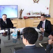 Gobierno de Oaxaca y Federación coordinan esfuerzos para fortalecer la seguridad en Oaxaca