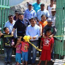 Inaugura Víctor Raúl Hernández López rehabilitación y equipamiento de la unidad médica en Cerro Concha.