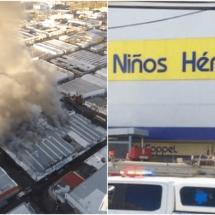 Se incendia tienda Coppel en la ciudad de Chihuahua