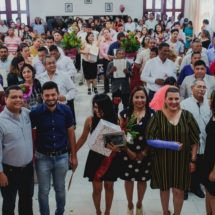 Realizan bodas colectivas en Cosamaloapan