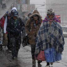 Frente frío y tormenta invernal traerán lluvias y nieve en México