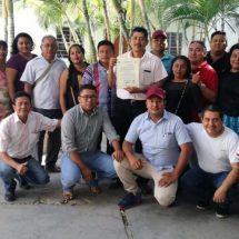 Asumen cargos 3 agentes municipales en Juchitán, Oaxaca