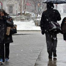 Para hoy y mañana se prevé granizo, lluvia y hasta nieve en México