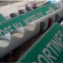 Delegado de tránsito tiene los semáforos abandonados en instalaciones de la Ganadera de Cosamaloapan