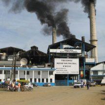 En tercer lugar producción de azúcar del ingenio San Cristóbal de Carlos A. Carrillo