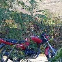 RECUPERA POLICÍA ESTATAL MOTOCICLETA CON REPORTE DE ROBO