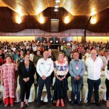 Ivette Morán de Murat encabeza 3ª Reunión con Presidentas y Presidentes DIF Municipales