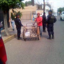 Falso que el Gobierno haya detenido comerciante ambulante por no pagar cuota