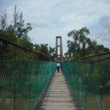 Este sábado inicia la transformación del Puente Colgante de San Bartolo
