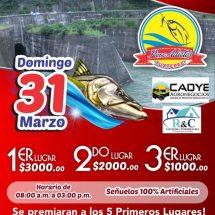 Este domingo el II Torneo de Pesca Deportiva en Cerro de Oro