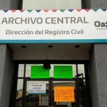 Registro Civil de Oaxaca falsifica documentos
