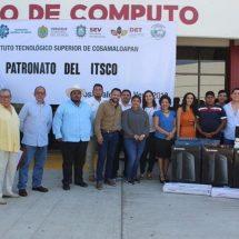 Apoya patronato del ITSCO a estudiantes de Cosamaloapan