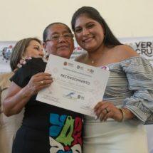En Cosamaloapan la SEV reconoce trayectoria de 11 mujeres cuenqueña