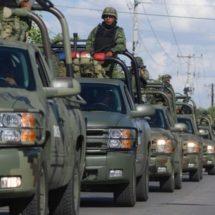 Llegan mil 600 militares a resguardar Guanajuato y recuperar la paz