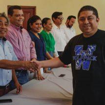 Jefes de manzana, alidos del ayuntamiento: Raúl Hermida