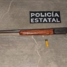 POLICÍA ESTATAL ASEGURA ARMA DE FUEGO SIN LICENCIA EN MIAHUATLÁN