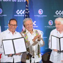 México da garantías a los empresarios de EE UU para invertir y cooperar en migración