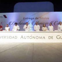 Cuauhtémoc Cárdenas, Muñoz Ledo e Ifigenia Martínez reciben Honoris Causa
