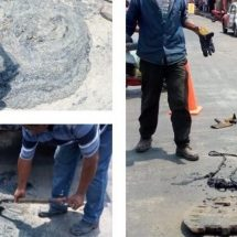 Excesiva grasa en drenajes de Cosamaloapan, CAEV los limpia