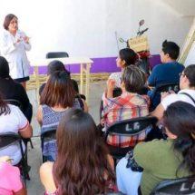 Promueven medidas sanitarias en comerciantes de Xoxocotlán