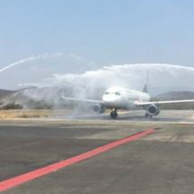 Inauguran en Oaxaca nueva ruta aérea a Puerto Escondido