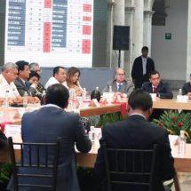 Dávila participa en la Primera Sesión Ordinaria del Consejo Estatal de Seguridad Pública de Oaxaca