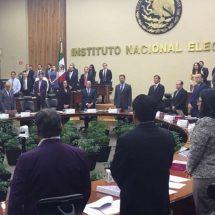 INE gestiona reunión de partidos políticos con el SAT