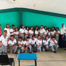 En Tuxtepec fortalecen factores de protección ante situaciones de violencia en escuelas