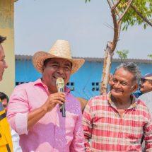 En 4 días, Dávila arrancó 17 obras con inversión de más 16 millones de pesos