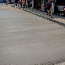 Concluye Gobierno de Tuxtepec reposición de losas en la avenida Libertad
