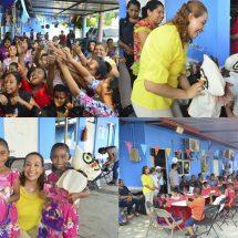 Celebra Presidenta María Luisa Vallejo Día del Niño  en el Área de Pedagogía