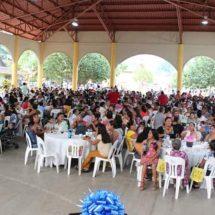 Celebra DIF Jacatepec a las madres en su día