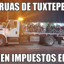 Empresas de grúas de Tuxtepec evaden impuestos al SAT