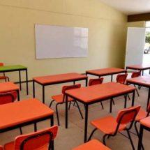 Beneficia IEEPO a escuela de Santa María Petapa con mobiliario y equipo