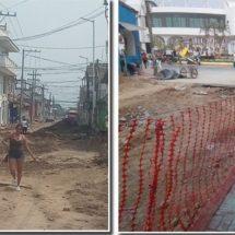 Inicia pavimentación de la avenida Venustiano Carranza en Cosamaloapan