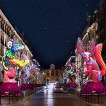 Cautiva Oaxaca con su riqueza cultural, artesanal y artística en el Festival Lille 3000, en Francia